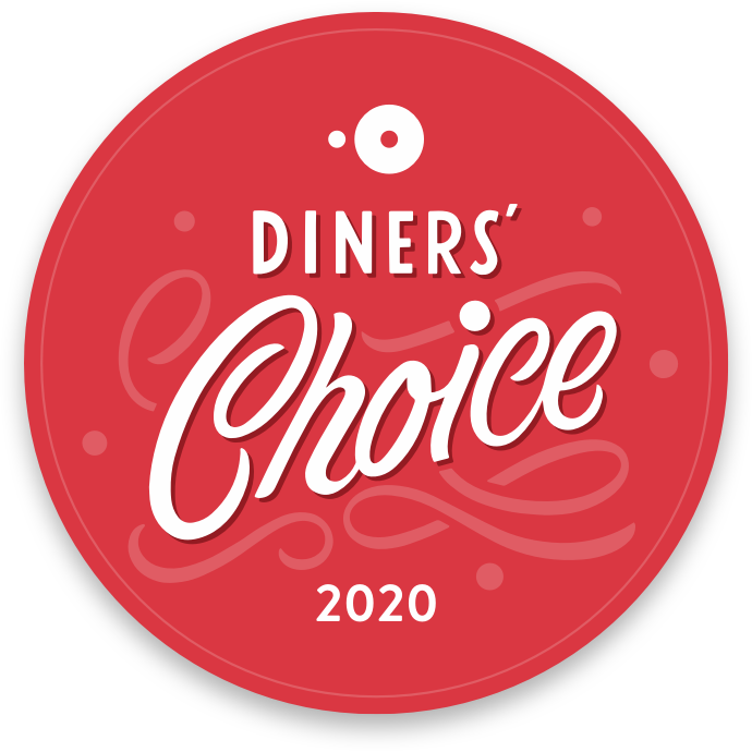 OpenTable Diners' Choice Award Winner